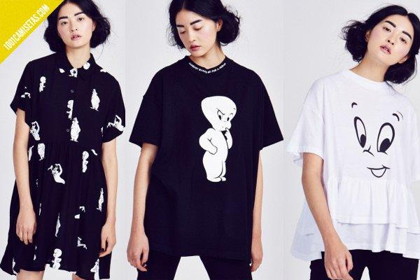 Camisetas lazy oaf casper