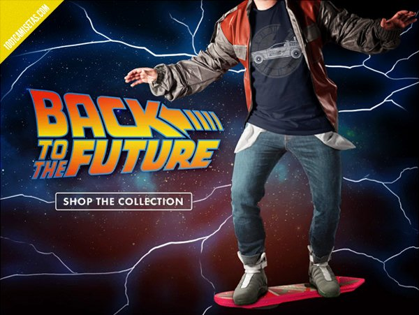 Camisetas regreso al futuro