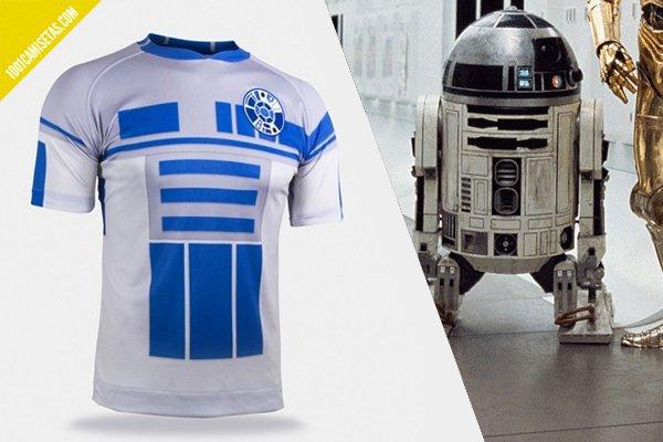 Camiseta fútbol r2d2