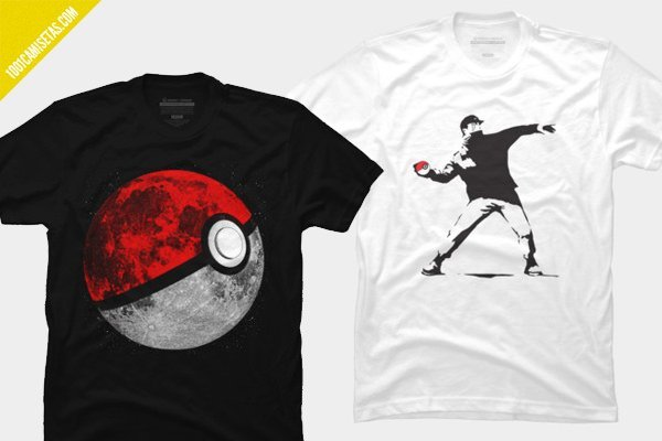 Camisetas pokeball
