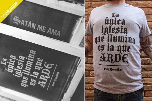 Camisetas serigrafía Error! design