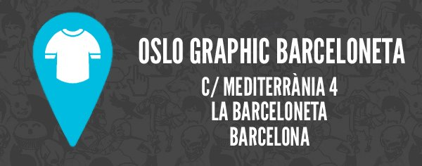 Oslo graphic barceloneta