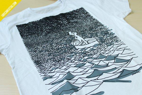 Camiseta barquera