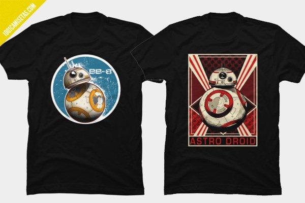Camisetas bb-8