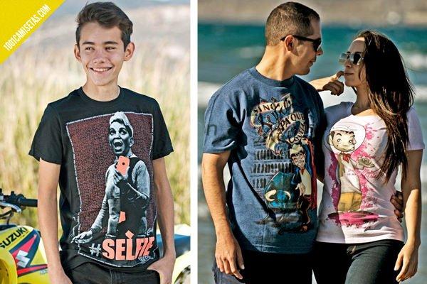 Camisetas cantinflas selfie