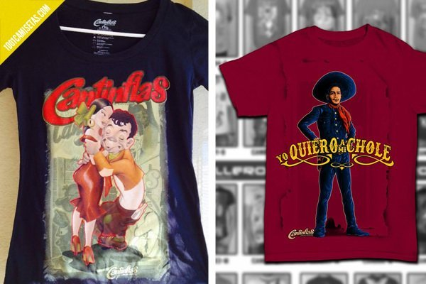 Camisetas cantinflas