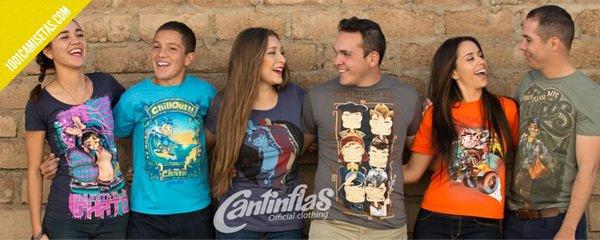 Camisetas de cantinflas