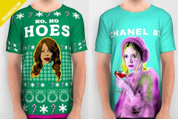 Camisetas scream queens fullprint society6