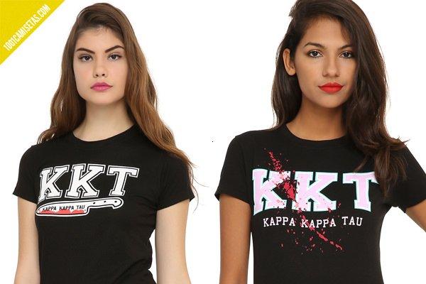 Camisetas scream queens hottopic