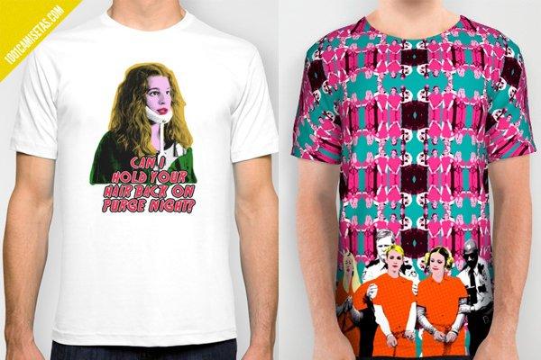 Camisetas scream queens society6