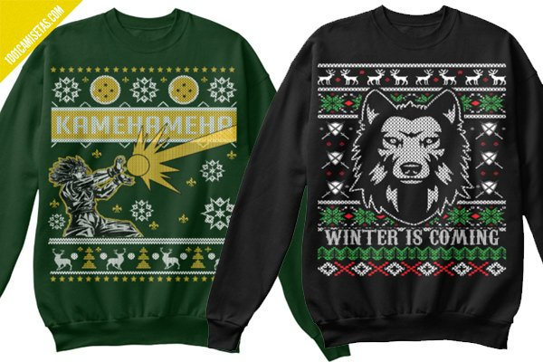 Ugly christmas sweaters game of thrones