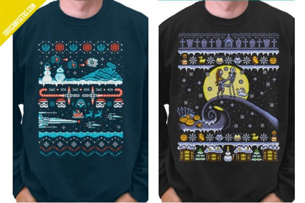 Ugly christmas sweaters teefury