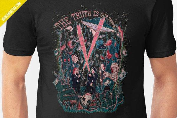Camiseta expediente-x
