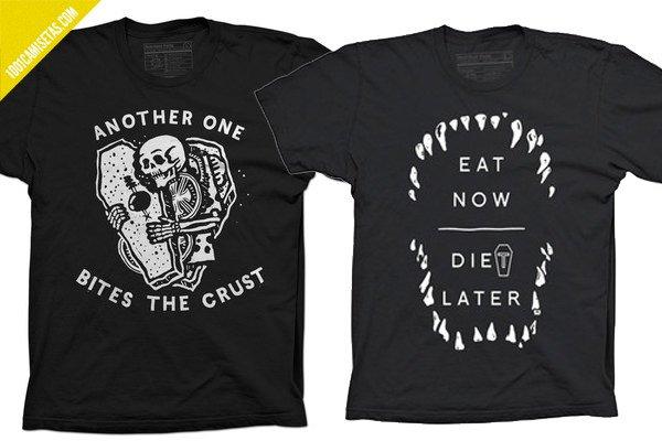 Camiseta pyknic comida