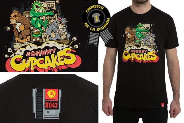 Camiseta semana monster attack