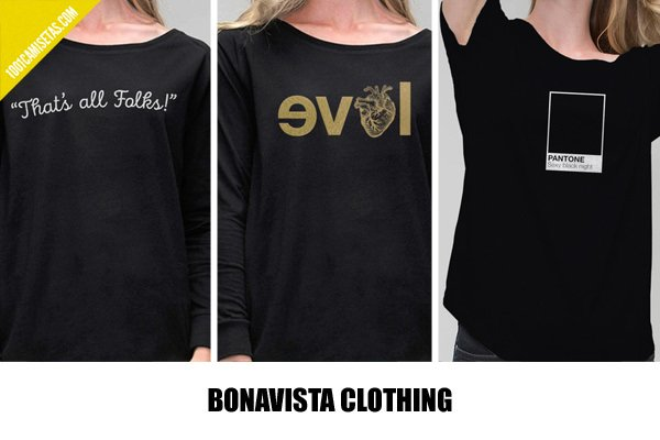 Camisetas bonavista clothing