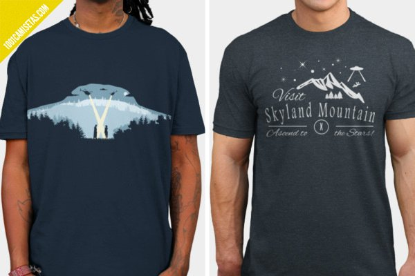 Camisetas expediente x