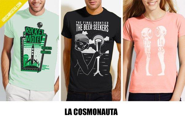 Camisetas la cosmonauta