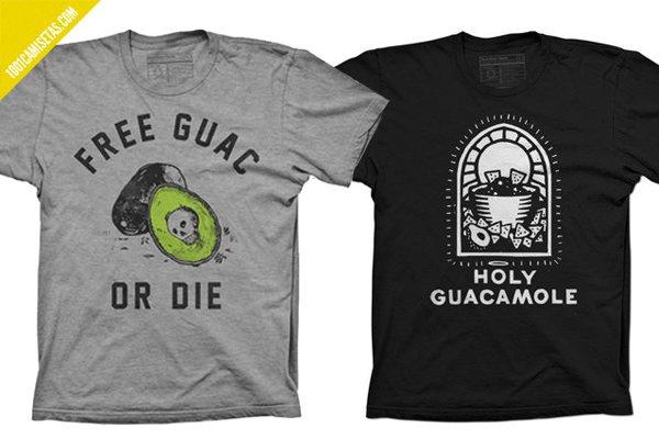 Camisetas pyknic guacamole