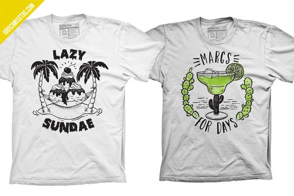 Camisetas pyknic sundae