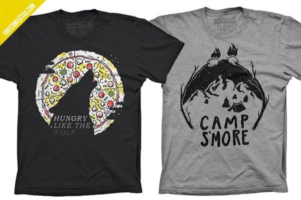 Camisetas pyknic