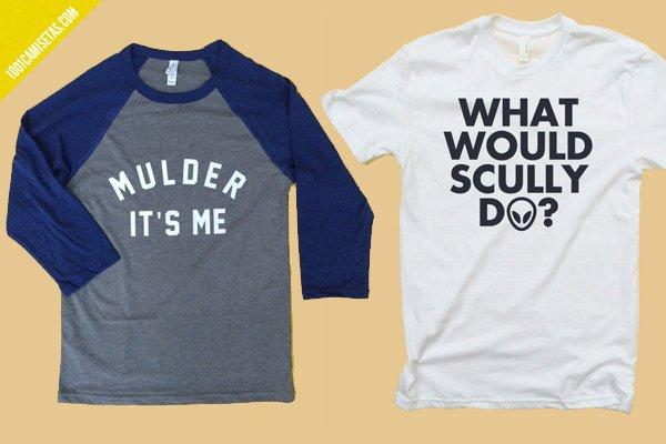 Camisetas scully mulder