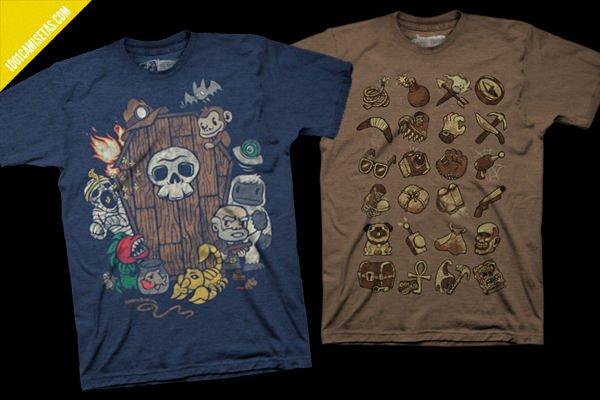 Camisetas videojuegos spelunky