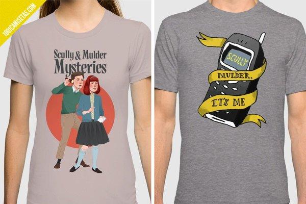 Camisetas x-files