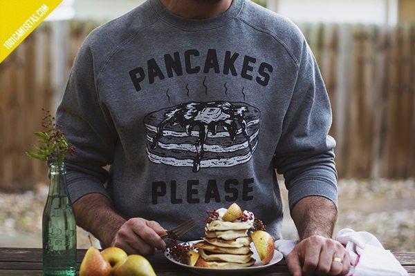 Sudaderas pyknic pancakes