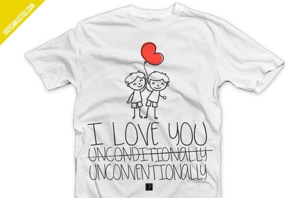 Camiseta cuqui san valentin