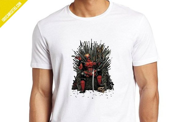 Camiseta got deadpool
