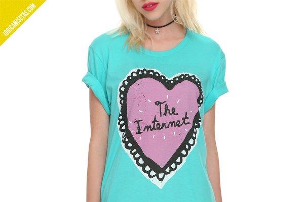 Camiseta love internet