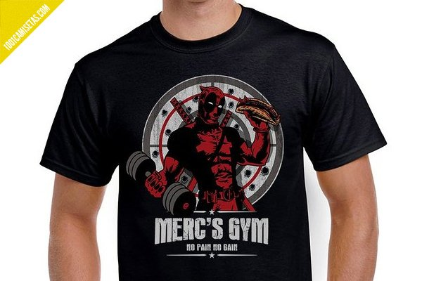 Camiseta mercs gym