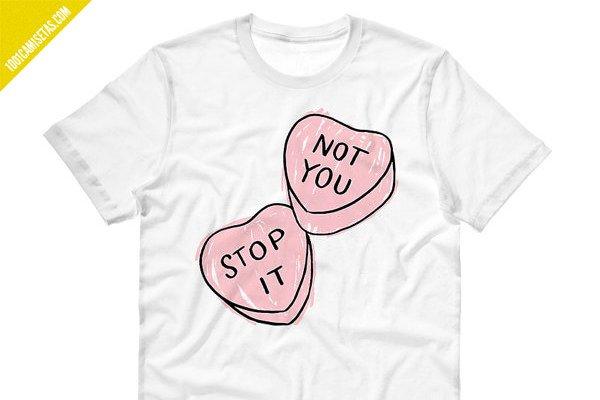 Camiseta para singles