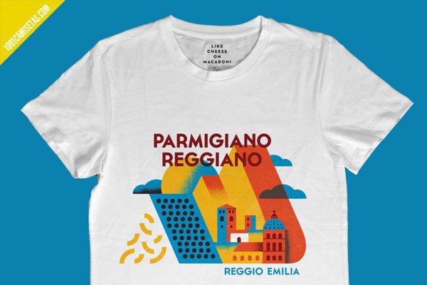 Camiseta parmigiano reggiano