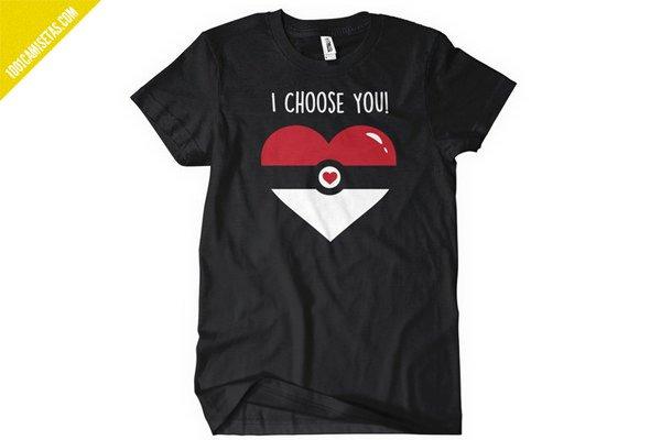Camiseta pokemon san valentin