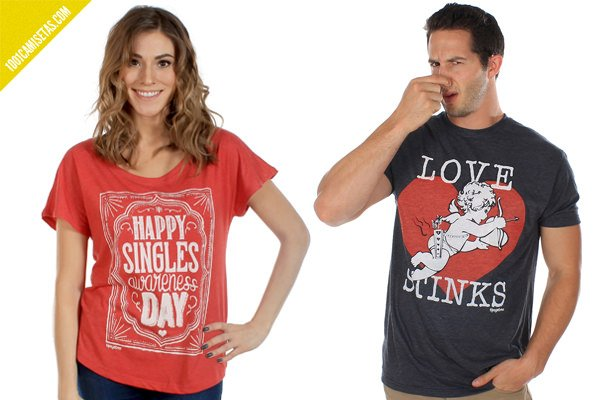 Camiseta singles