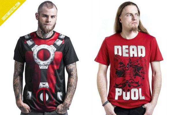 Camisetas de deadpool