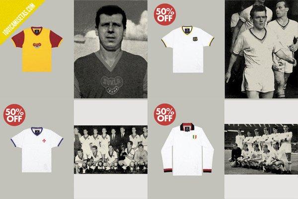 Camisetas fútbol milan