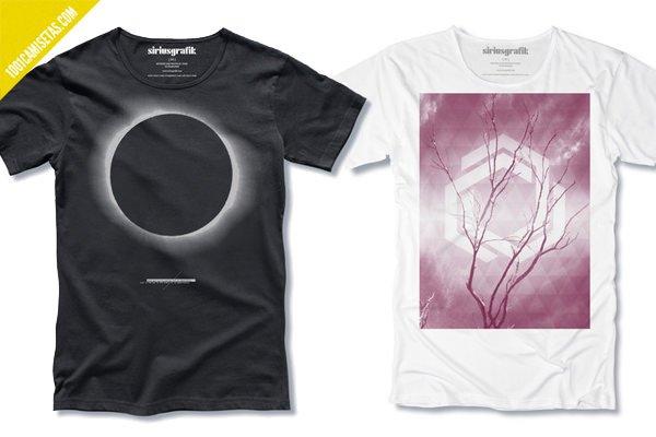 Camisetas siriusgrafik