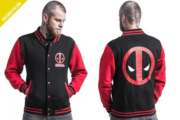 Chaqueta deadpool
