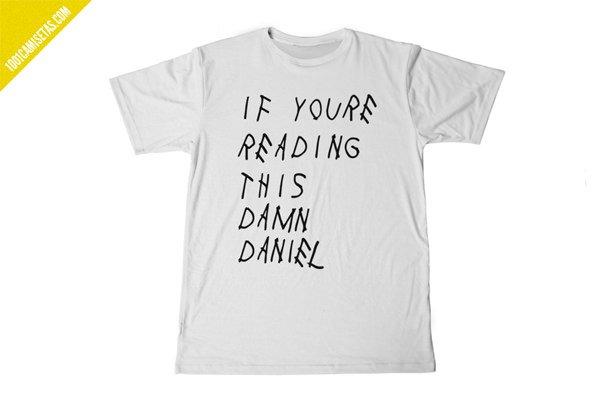 Camiseta damn daniel