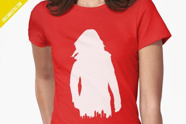 Camiseta jessica jones serie