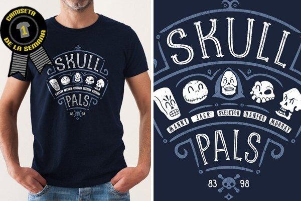 Camiseta semana skull pals