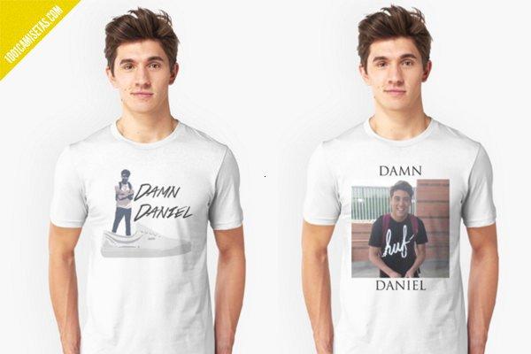 Camisetas de damn daniel