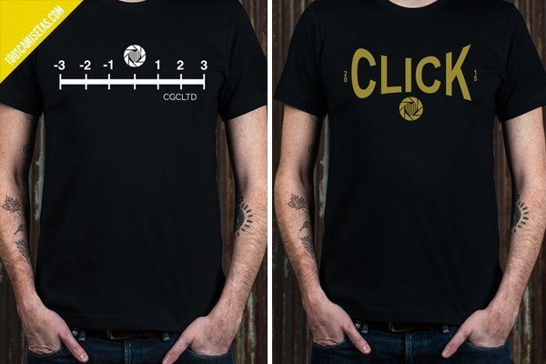 Camisetas fotografia