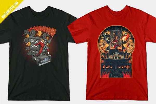 Camisetas fury road