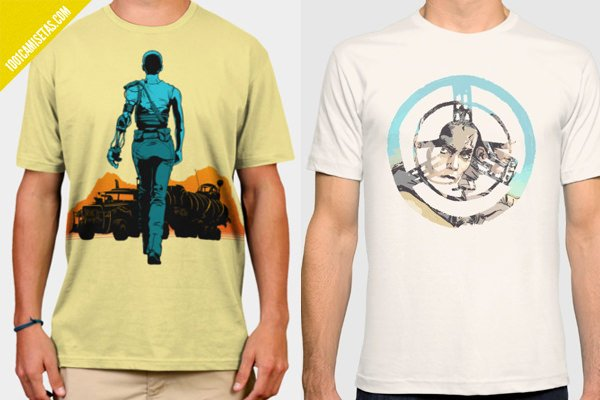 Camisetas imperator furiosa fury road