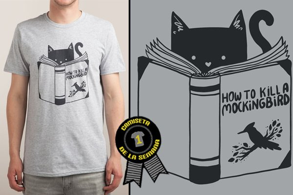 Camiseta how to kill a mockingbird