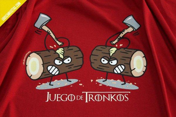 Camiseta juego de tronos kukuxumusu